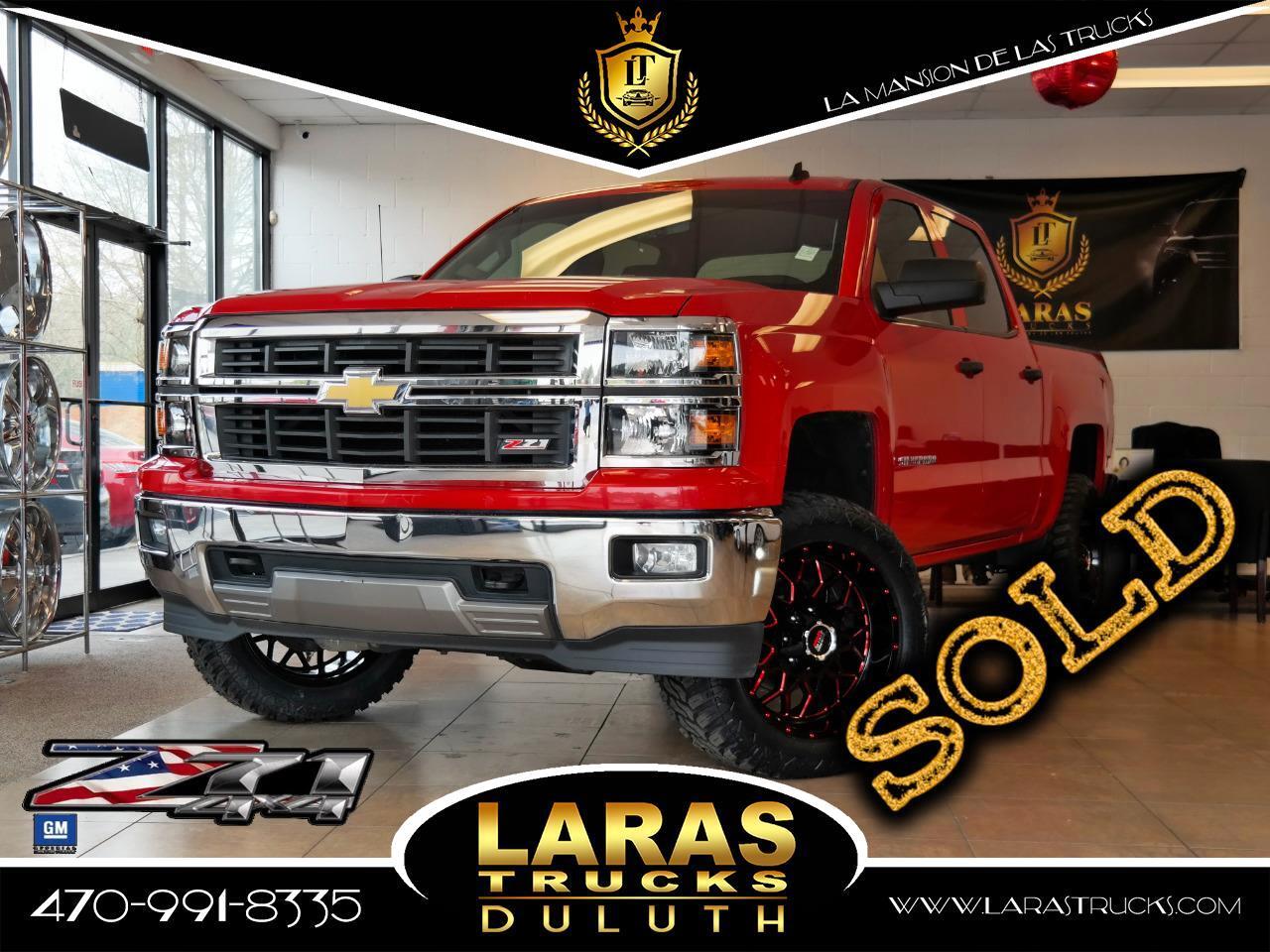 """2014 Chevrolet Silverado 1500 4WD Crew Cab 143.5"""" LT w/2LT"""