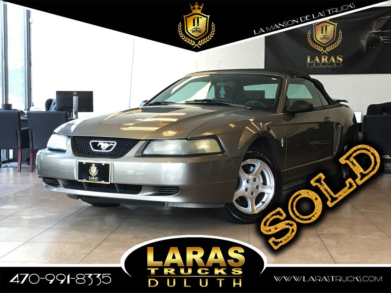 2002 Ford Mustang 2dr Convertible Premium