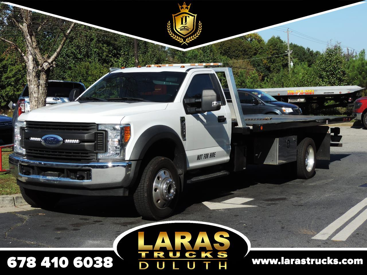 "Ford Super Duty F-550 DRW XL 2WD Reg Cab 169"" WB 84"" CA 2017"