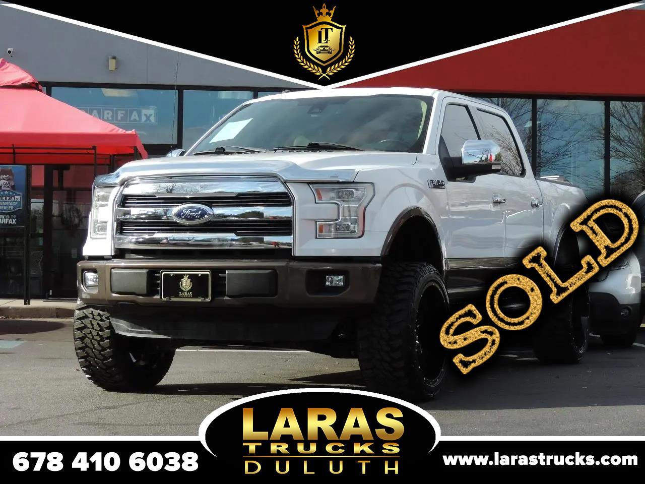 "Ford F-150 2WD SuperCrew 157"" Lariat 2015"