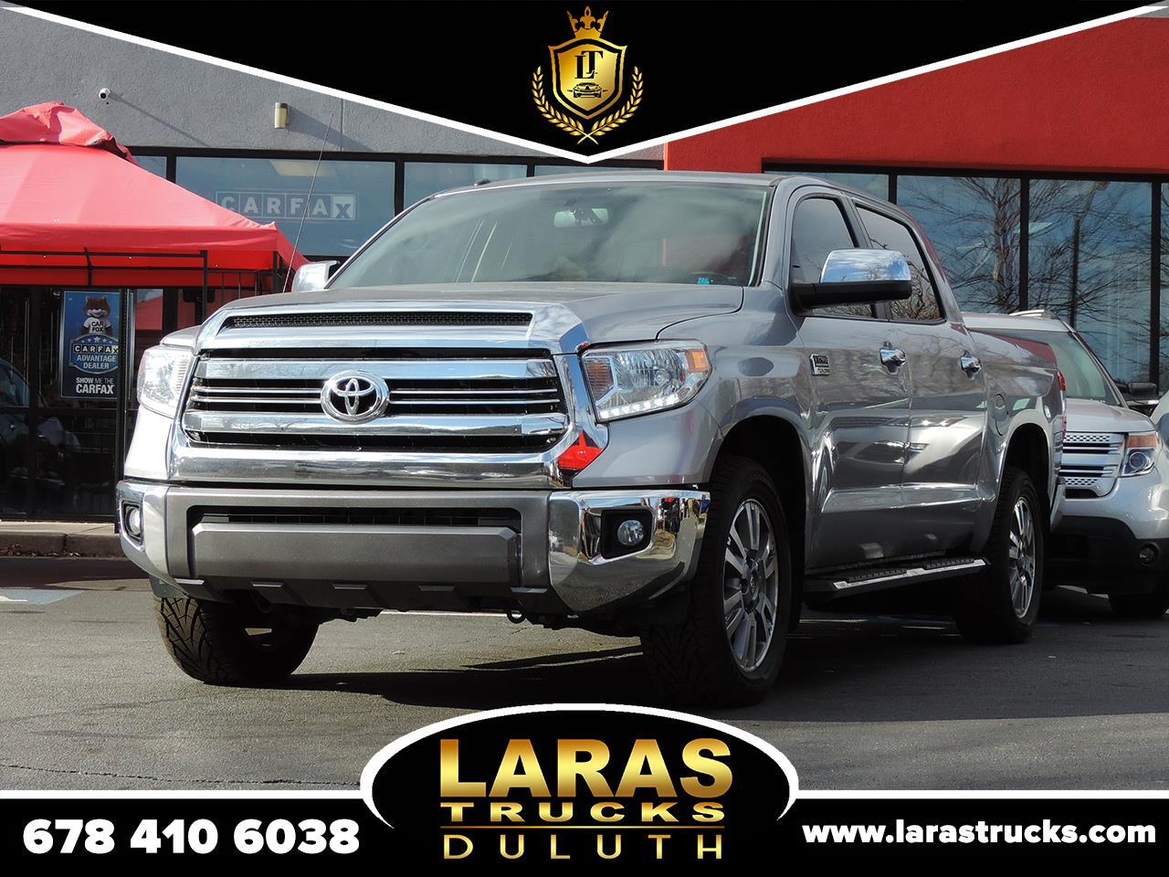 Toyota Tundra 2WD 1794 Edition CrewMax 5.5' Bed 5.7L FFV (Natl) 2017