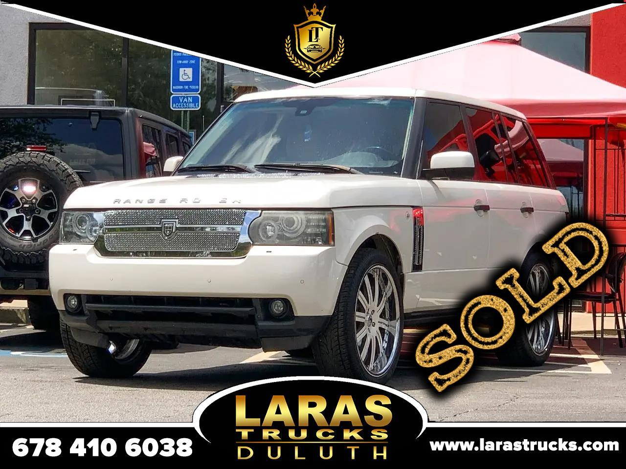 Land Rover Range Rover 4WD 4dr HSE LUX 2010