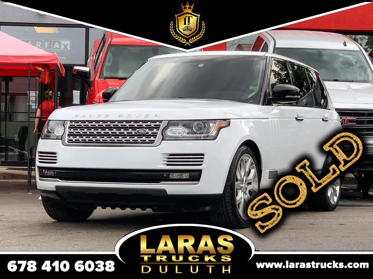 Land Rover Range Rover 4WD 4dr Supercharged 2014