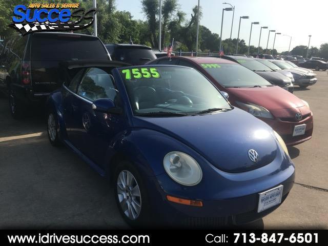 2008 Volkswagen New Beetle Convertible 2dr Man S