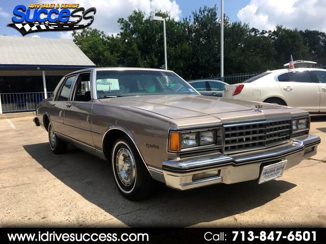 1984 Chevrolet Caprice Classic 4dr Sedan