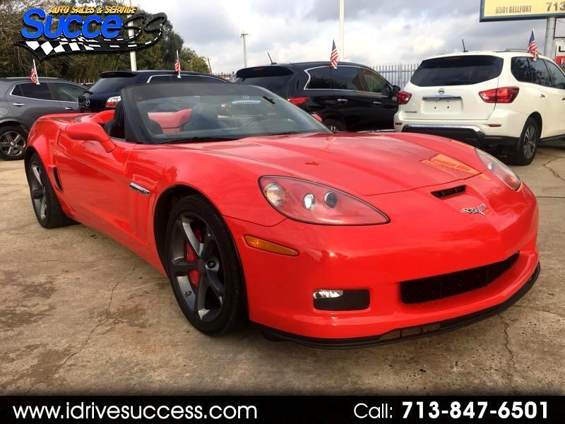 2012 Chevrolet Corvette 2dr Conv Z16 Grand Sport w/2LT