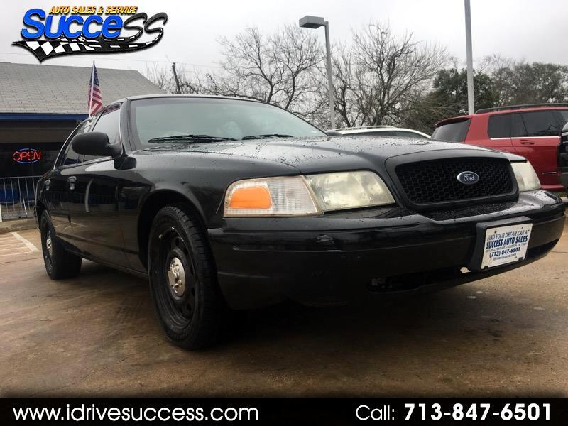 2008 Ford Police Interceptor 4dr Sdn w/3.27 Axle