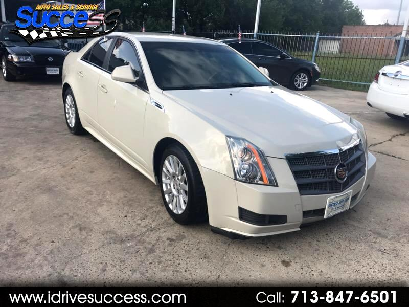 Cadillac CTS Sedan 4dr Sdn 3.0L Luxury RWD 2010