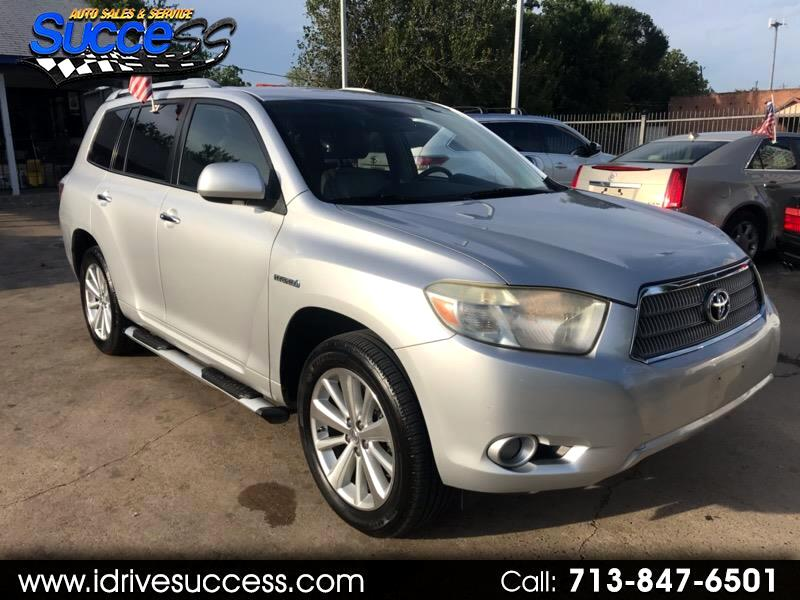 Toyota Highlander 4WD 4dr Limited w/3rd Row (Natl) 2008