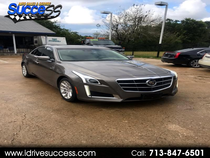 2014 Cadillac CTS 4dr Sdn 2.0L Turbo Luxury RWD