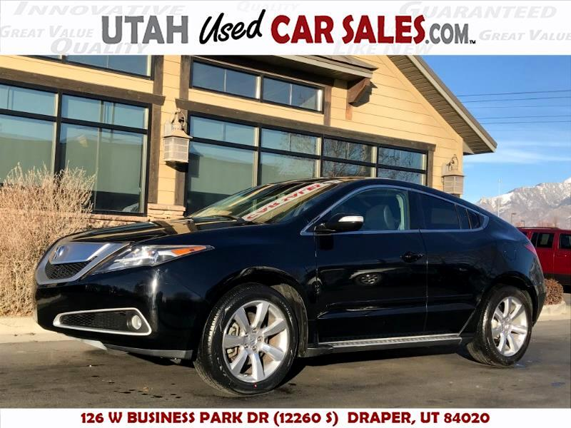 2012 Acura ZDX 6-Spd AT w/Tech Pkg