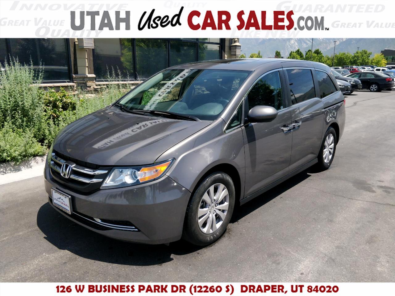 2016 Honda Odyssey 5dr EX-L AT with RES & NAVI