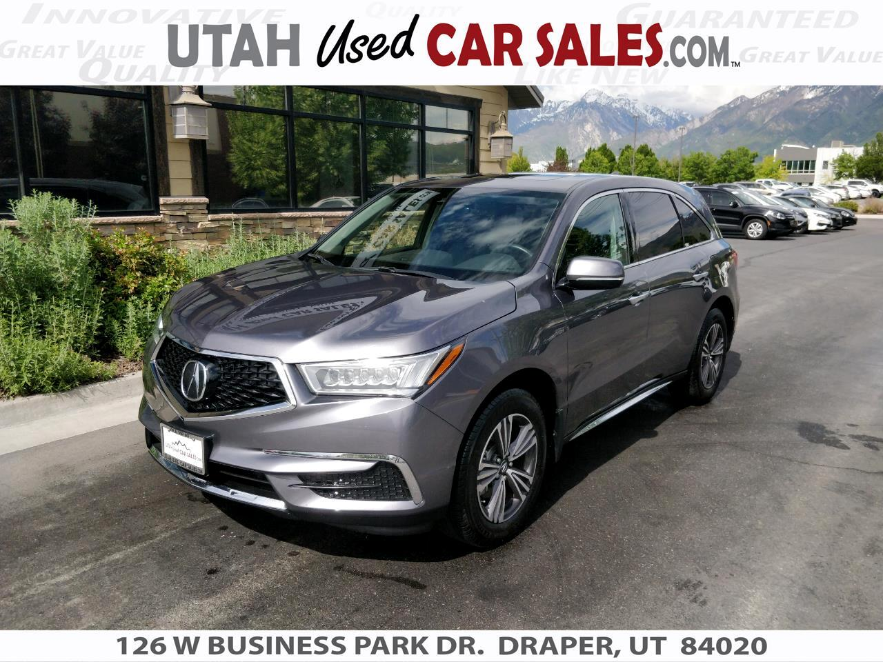 2018 Acura MDX DVD/Rear Entertainment System RES