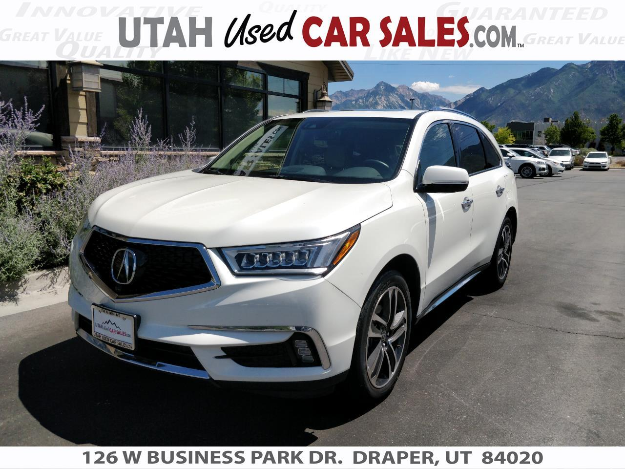 2017 Acura MDX SH-AWD w/Advance Pkg