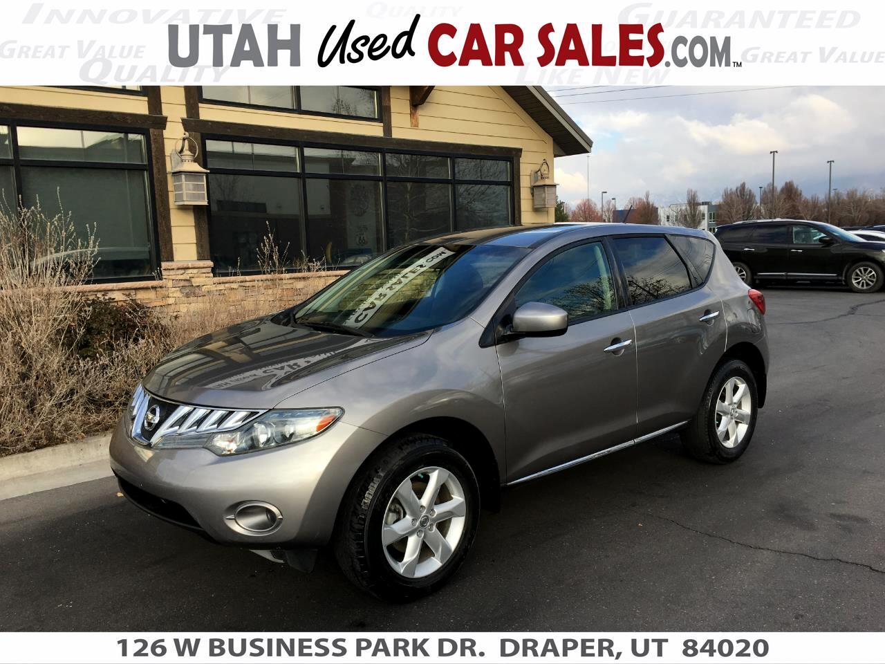 Nissan Murano AWD 4dr S 2010
