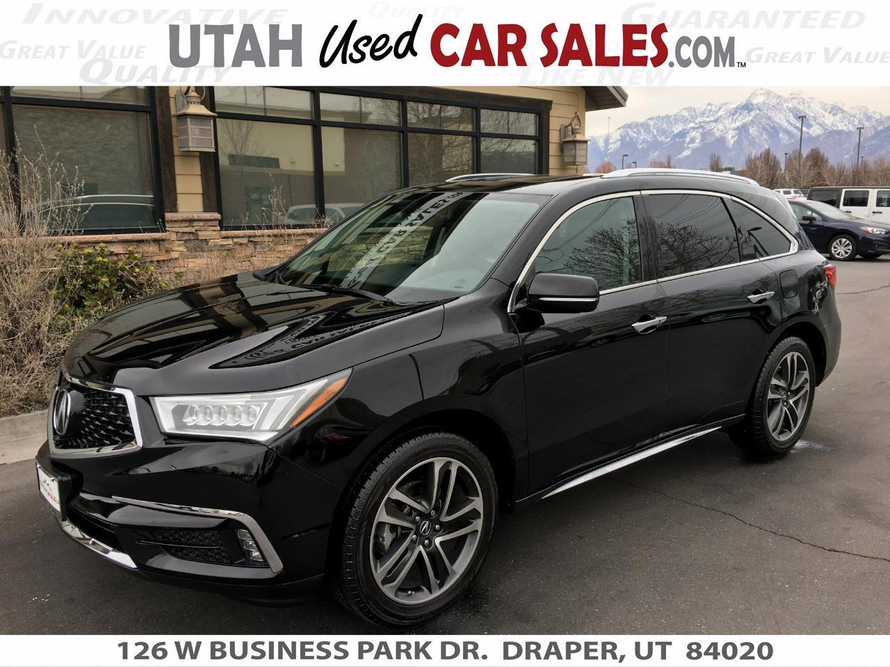 Acura MDX FWD w/Advance/Entertainment Pkg 2017