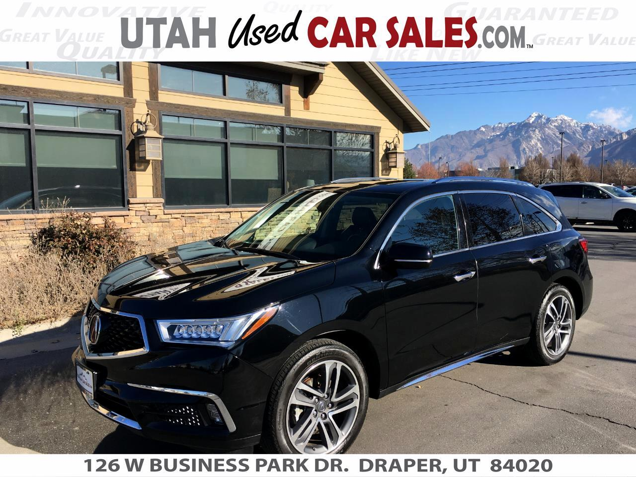 Acura MDX SH-AWD w/Advance/Entertainment Pkg 2017
