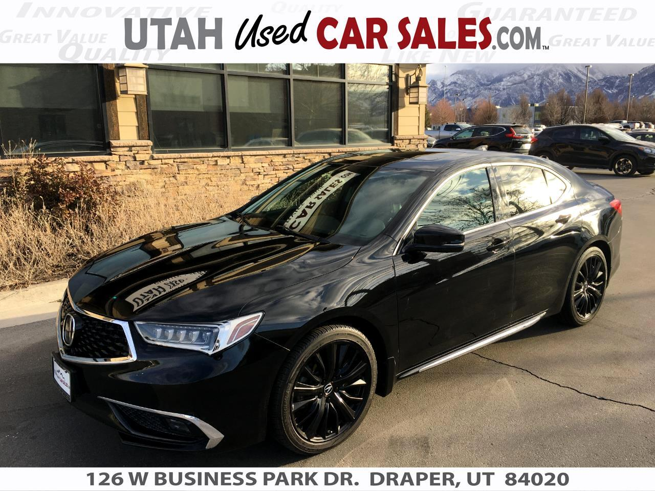 Acura TLX 3.5L SH-AWD w/Advance Pkg 2018