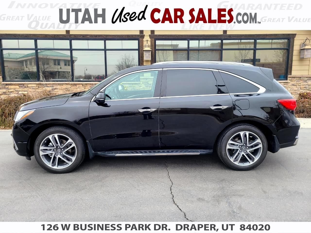 Acura MDX SH-AWD w/Advance/Entertainment Pkg 2018