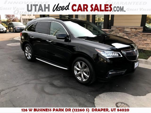 2015 Acura MDX 6-Spd AT w/Advance Package
