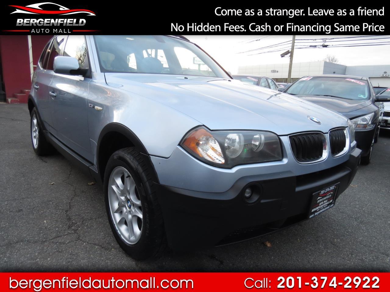 BMW X3 2.5i 2004