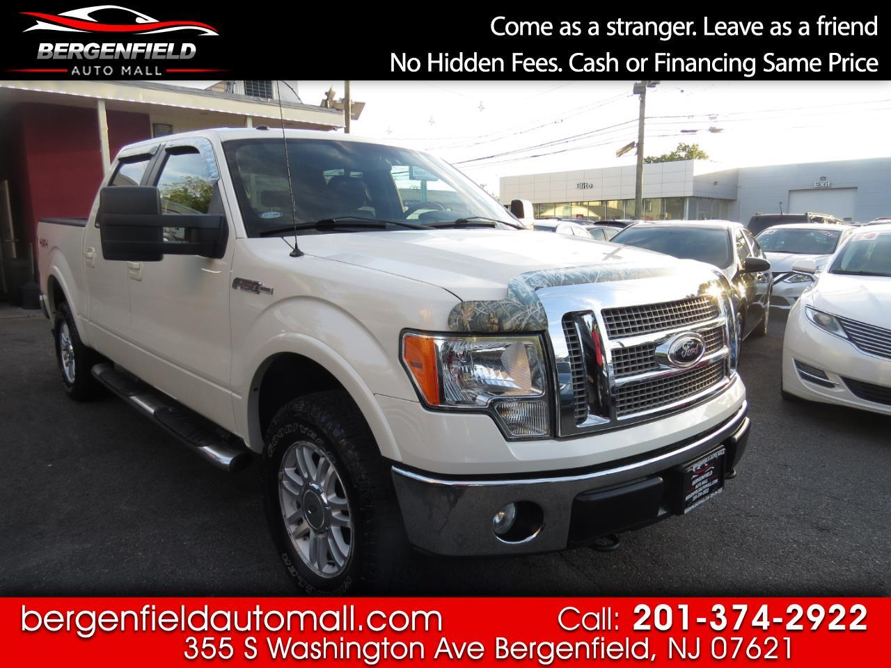 Ford F-150 Lariat SuperCrew 5.5-ft. Bed 4WD 2009