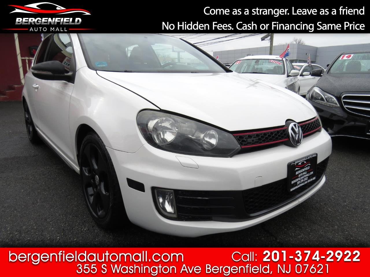 Volkswagen GTI 2.0T Coupe PZEV 2010