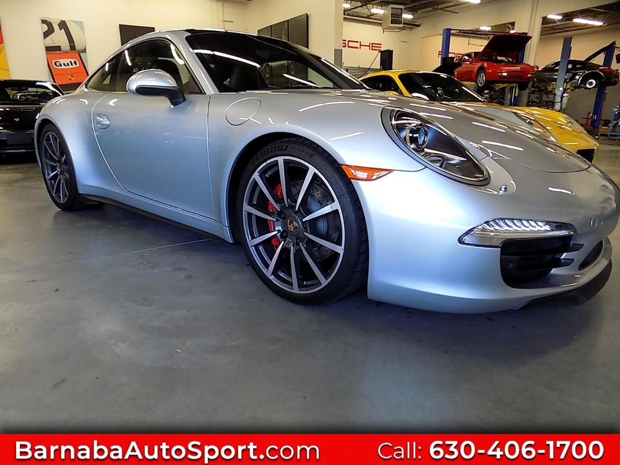 Porsche 911 Carrera 4S Coupe 2014