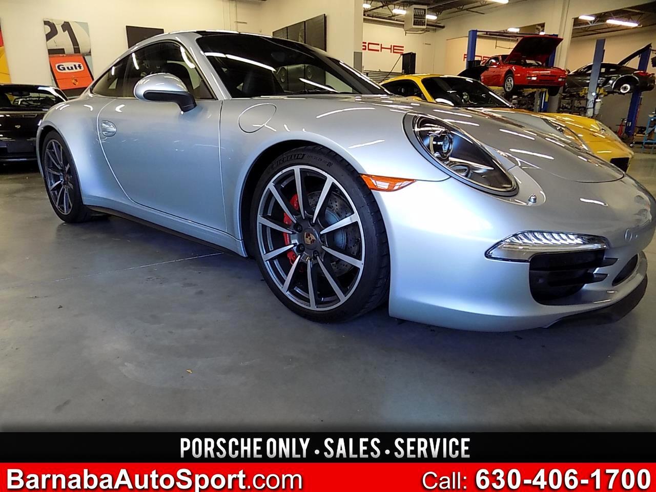 Porsche 911 Carrera 4S Coupe 2014