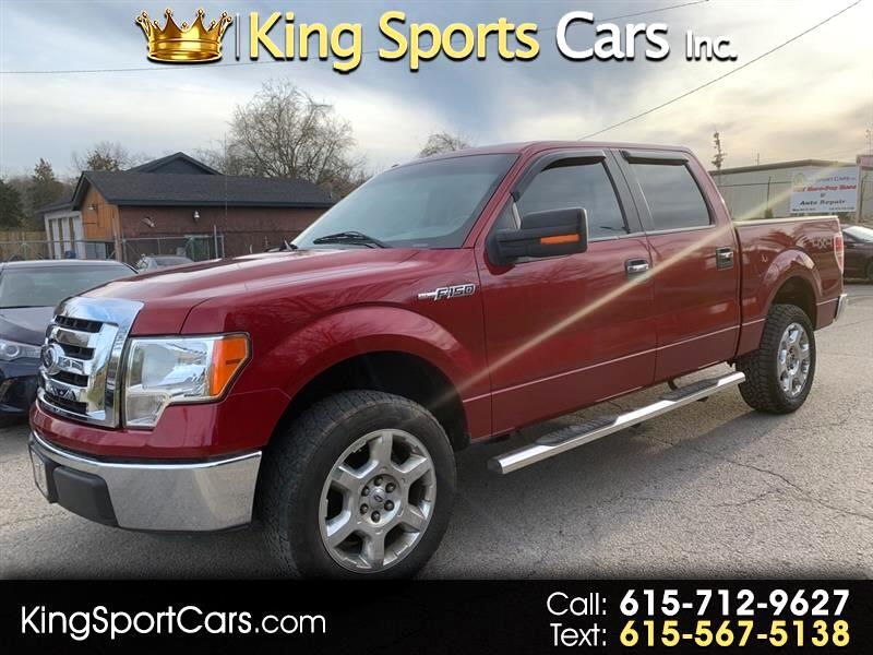 Ford F-150 XLT SuperCab 5.5-ft. Bed 4WD 2014