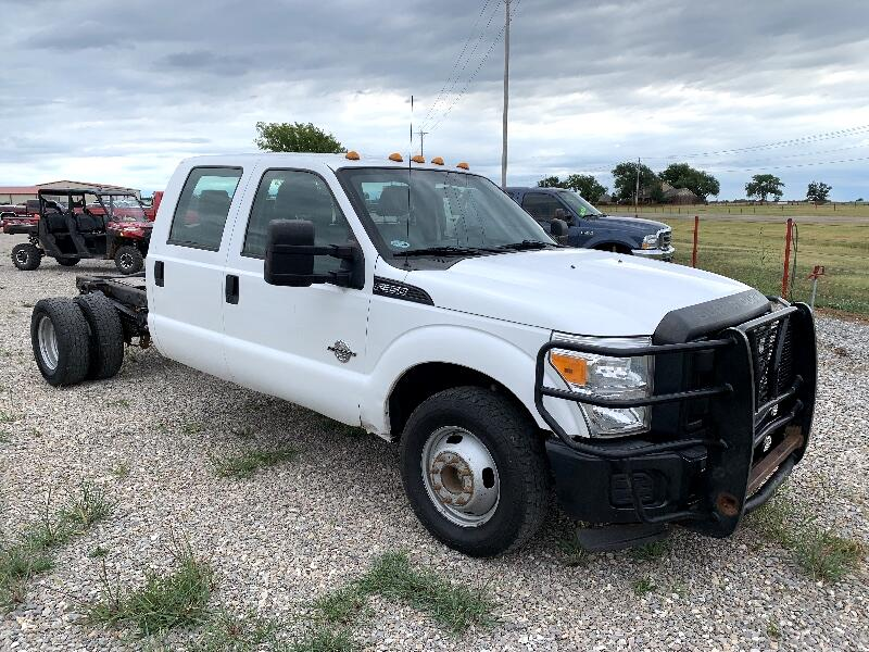 Ford F-350 SD XL Crew Cab Long Bed DRW 2WD 2012