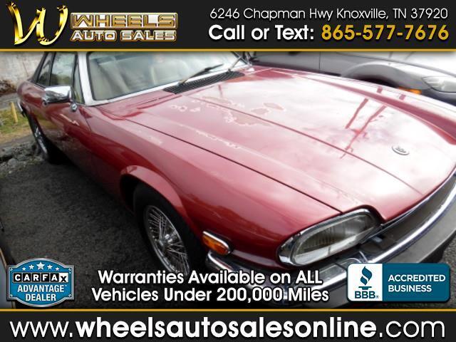 1984 Jaguar XJS Base