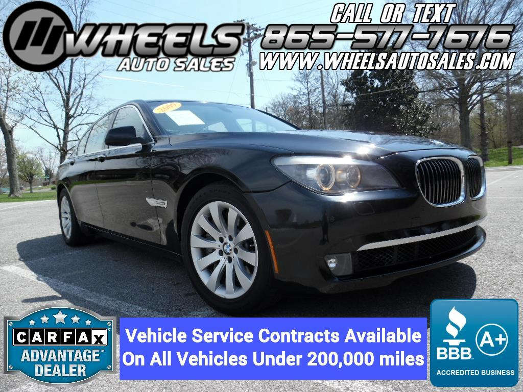 2009 BMW 7 Series 4dr Sdn 750i