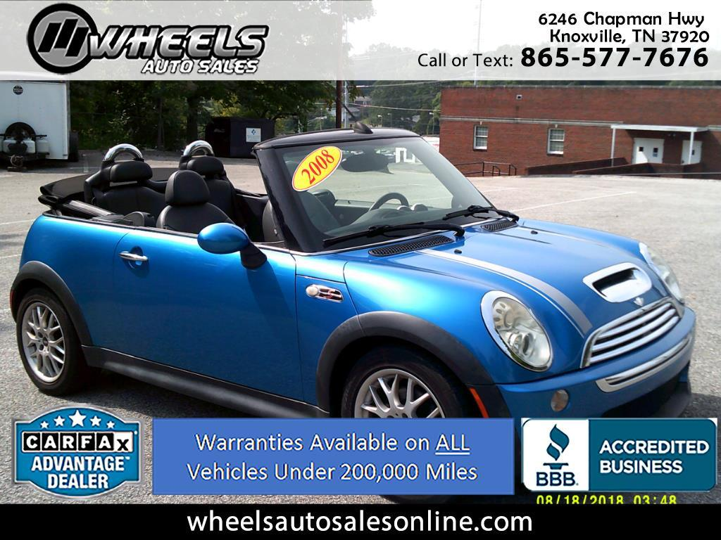 2008 MINI Cooper Convertible 2dr S