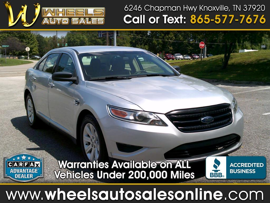 2010 Ford Taurus 4dr Sdn SE FWD