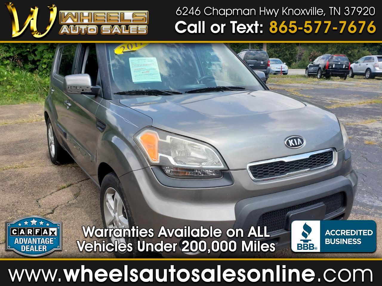 2011 Kia Soul 5dr Wgn Auto +