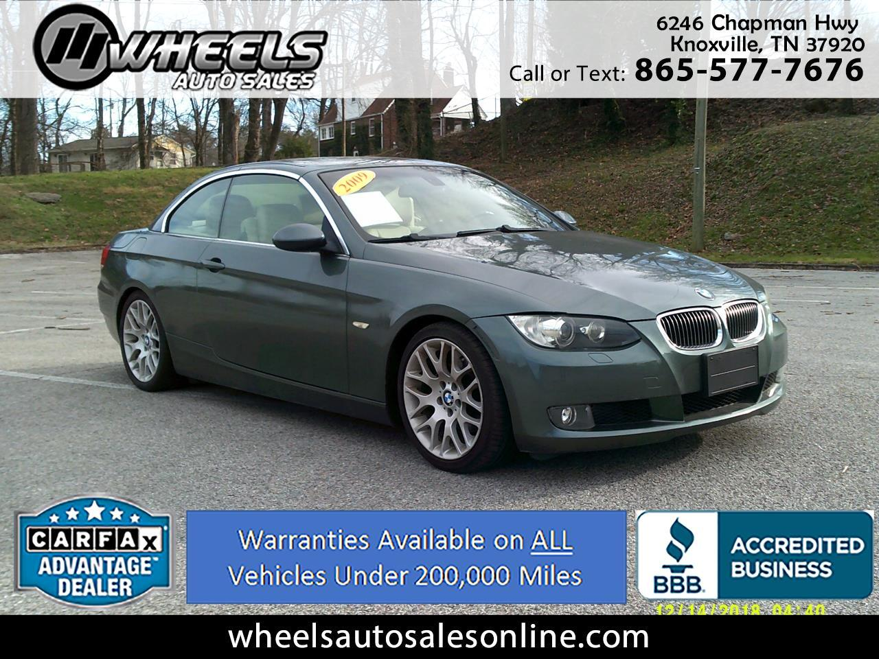 2009 BMW 3 Series 2dr Conv 328i