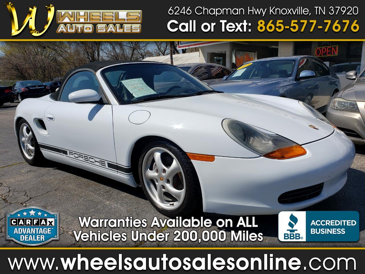 Porsche Boxster 2dr Roadster Manual 1997