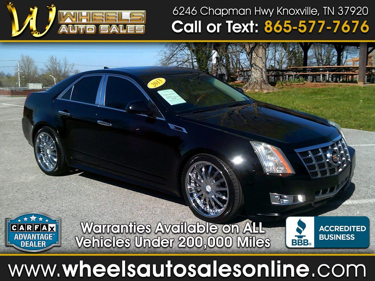 2013 Cadillac CTS Sedan 4dr Sdn 3.6L Premium RWD