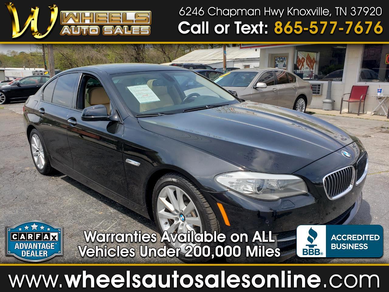 2011 BMW 5 Series 4dr Sdn 528i RWD