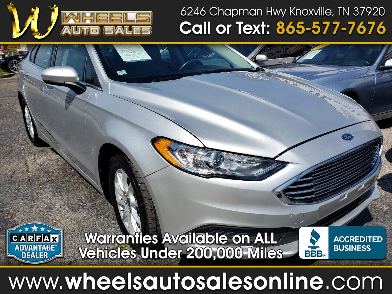 2017 Ford Fusion 4dr Sdn I4 S FWD