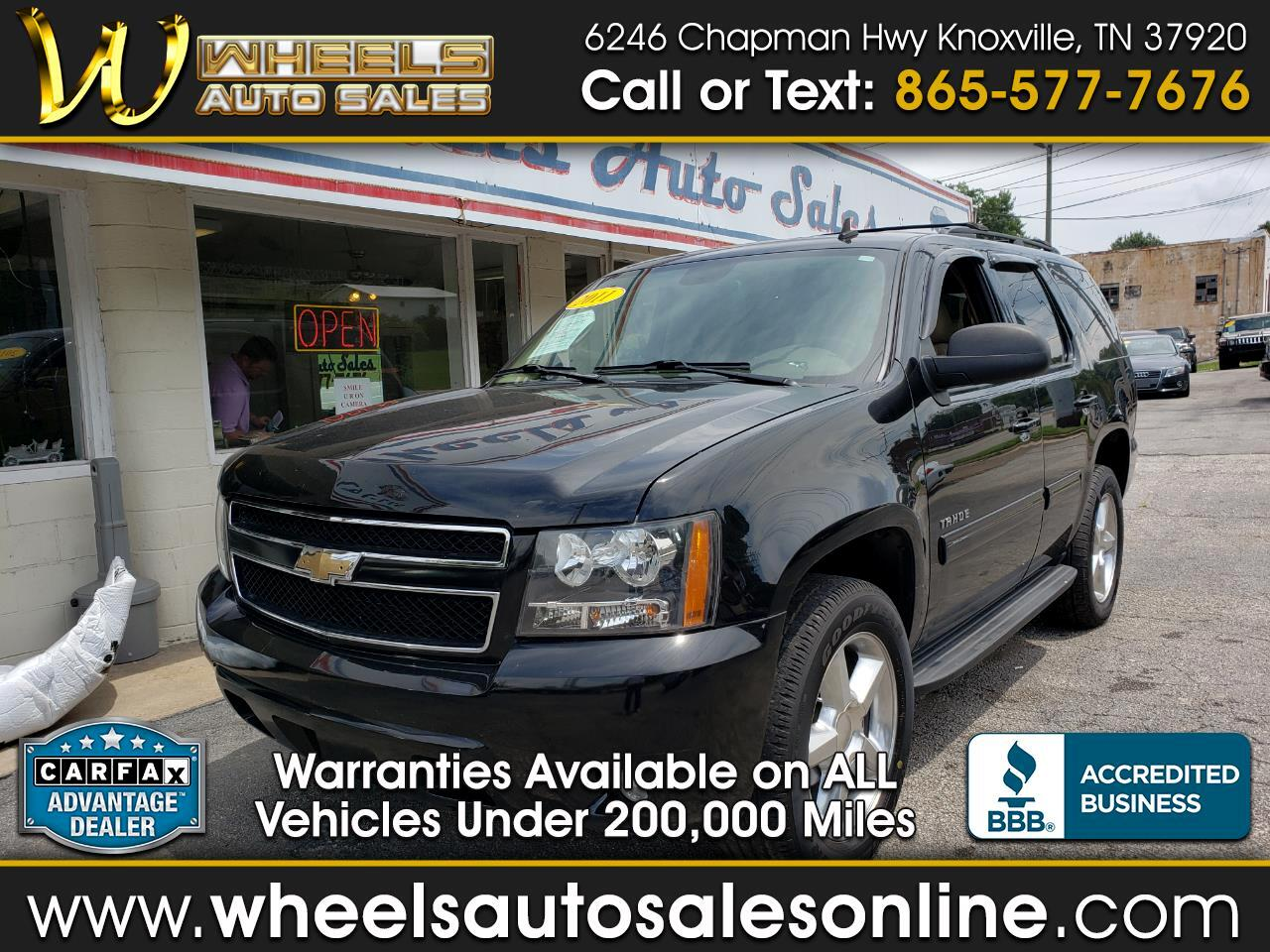 2011 Chevrolet Tahoe 2WD 4dr 1500 LS