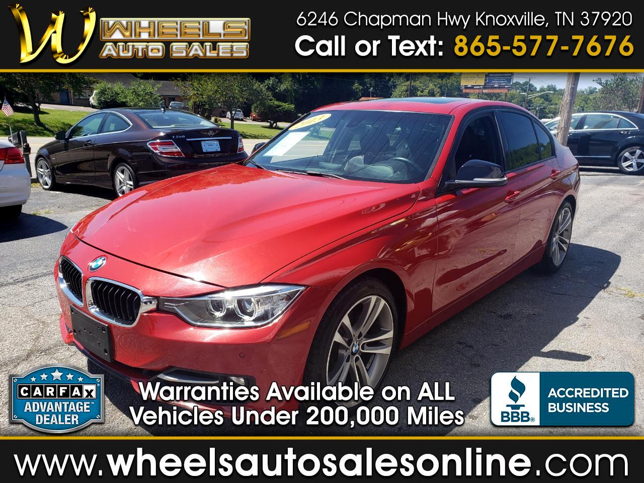 2013 BMW 3 Series Sport & Premium Package