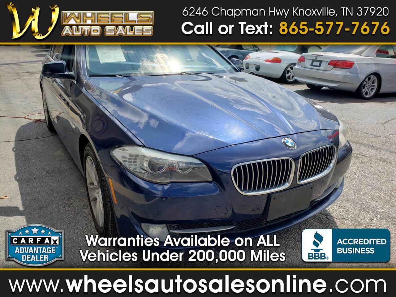 2013 BMW 5 Series 4dr Sdn 528i RWD