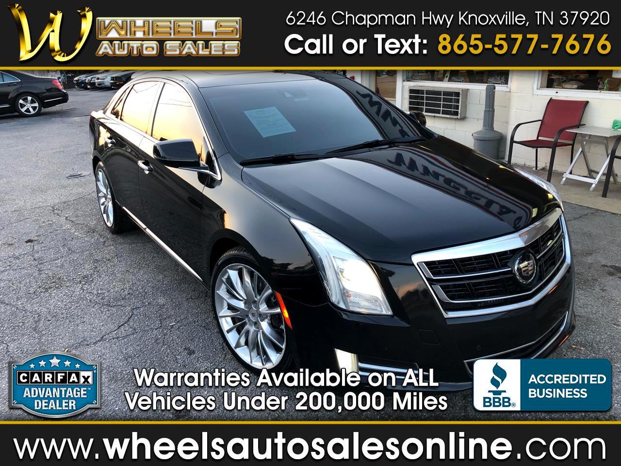 2014 Cadillac XTS 4dr Sdn Vsport Platinum AWD