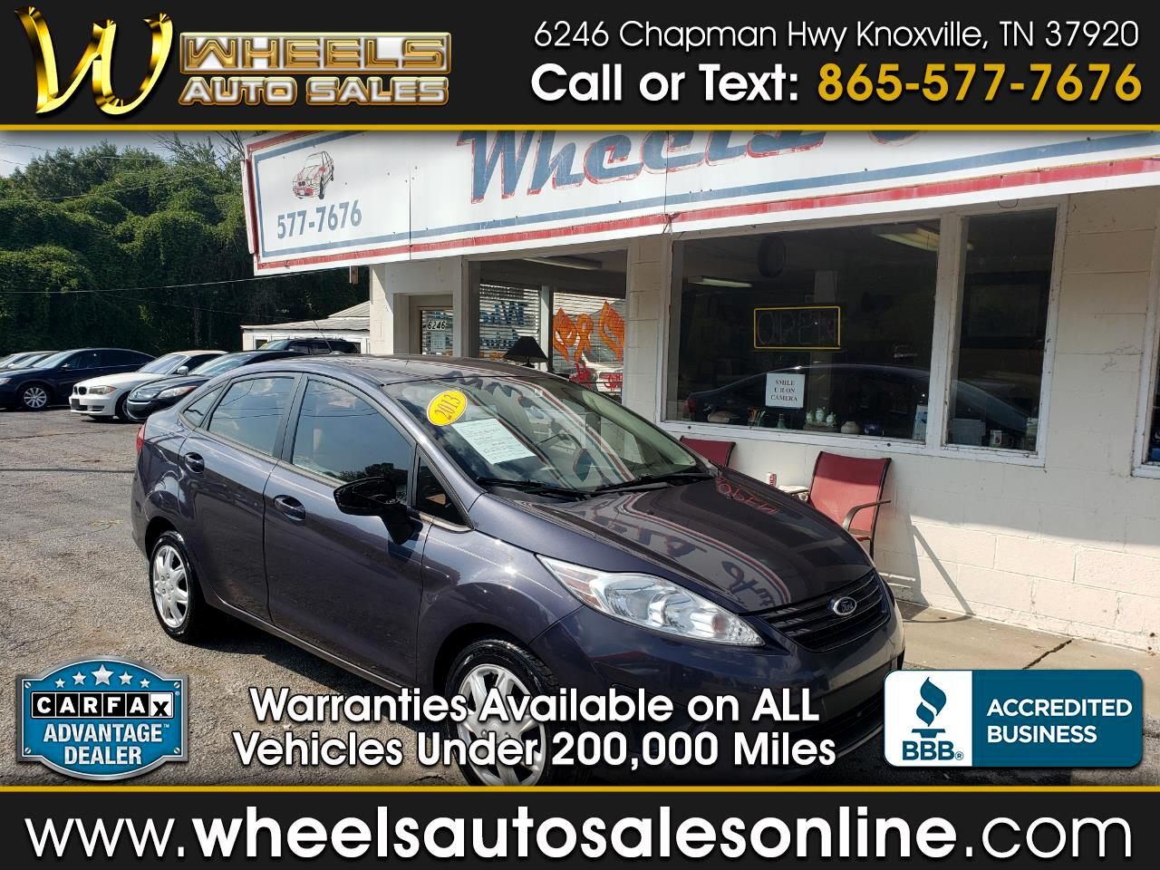 2013 Ford Fiesta 5dr HB S