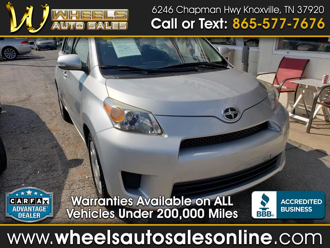 2012 Scion xD 5dr HB Auto (Natl)