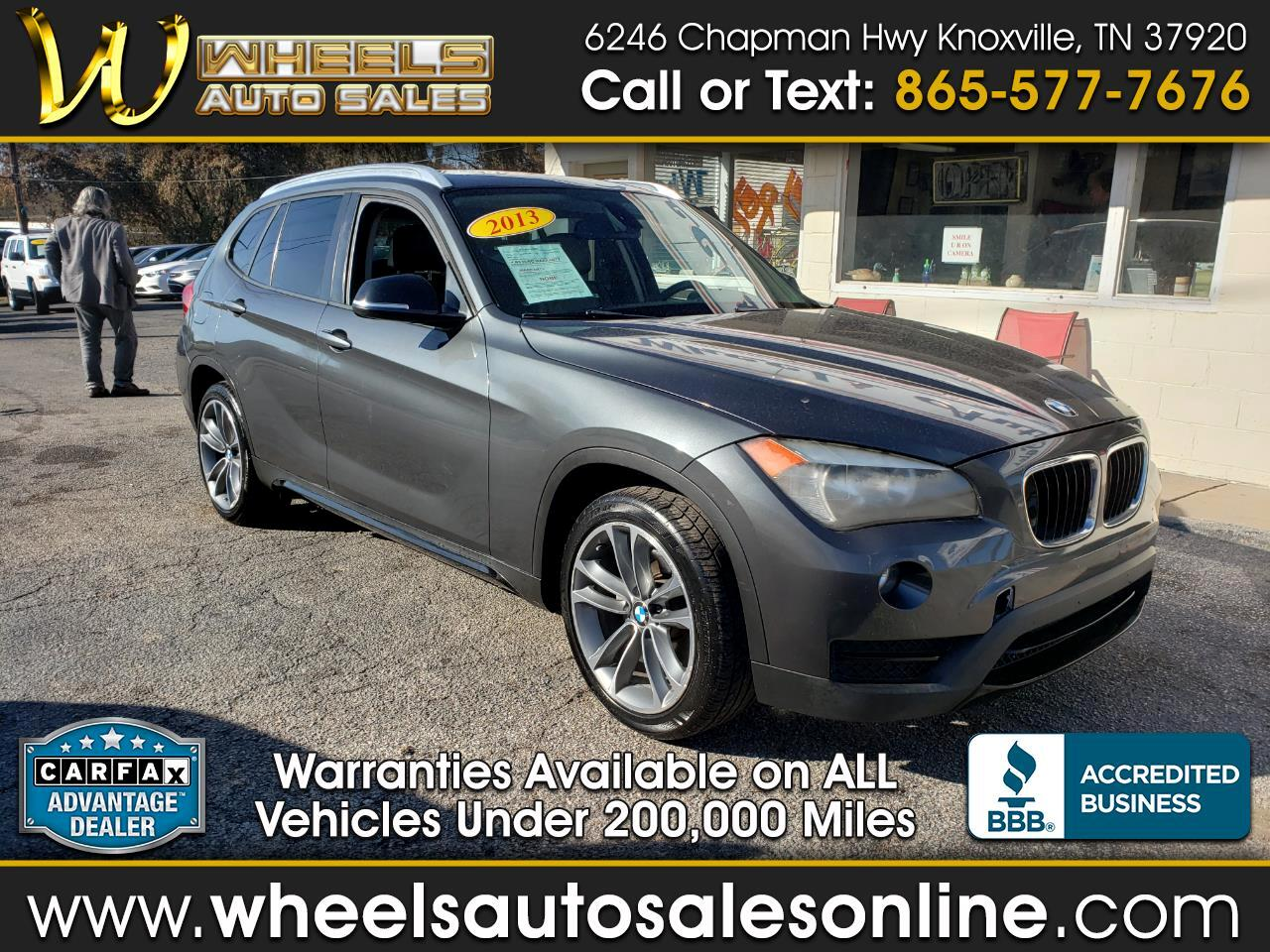 BMW X1 sDrive28i Sports Activity Vehicle 2013