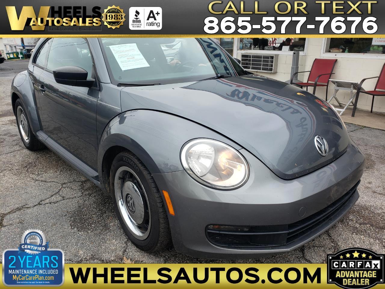 Volkswagen Beetle 2dr Cpe Man PZEV 2012