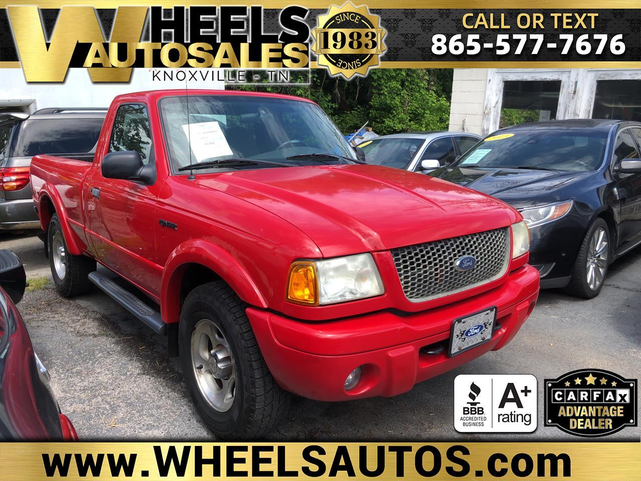 Ford Ranger Reg Cab 3.0L Edge Plus 4WD 2002